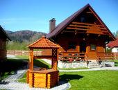 Domki całoroczne z kominkiem w Górach - 50 m do rzeki