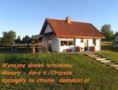 Wynajme domek letniskowy Mazury - Góra- Nowe Guty