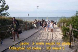 Kawalerka przy plaży.Gdańsk.3 miejsca noclegowe.Tanie noclegi nad morzem.