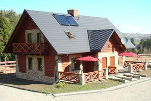 domki całoroczne z kominkami