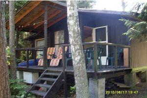 Domek w lesie nad jeziorem - Mazury
