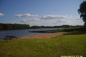 Domek letniskowy nad jeziorem